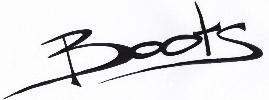 handtekening boots